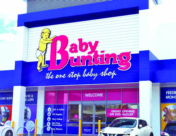 Baby bunting store