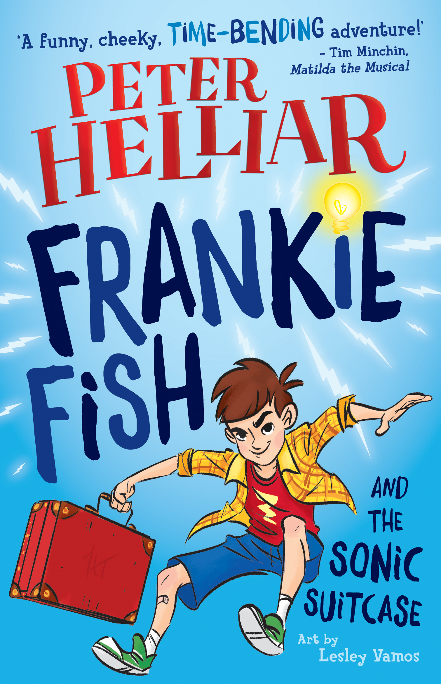 WIN 1 of 5 copies of Frankie Fish and the Sonic Suitcase.