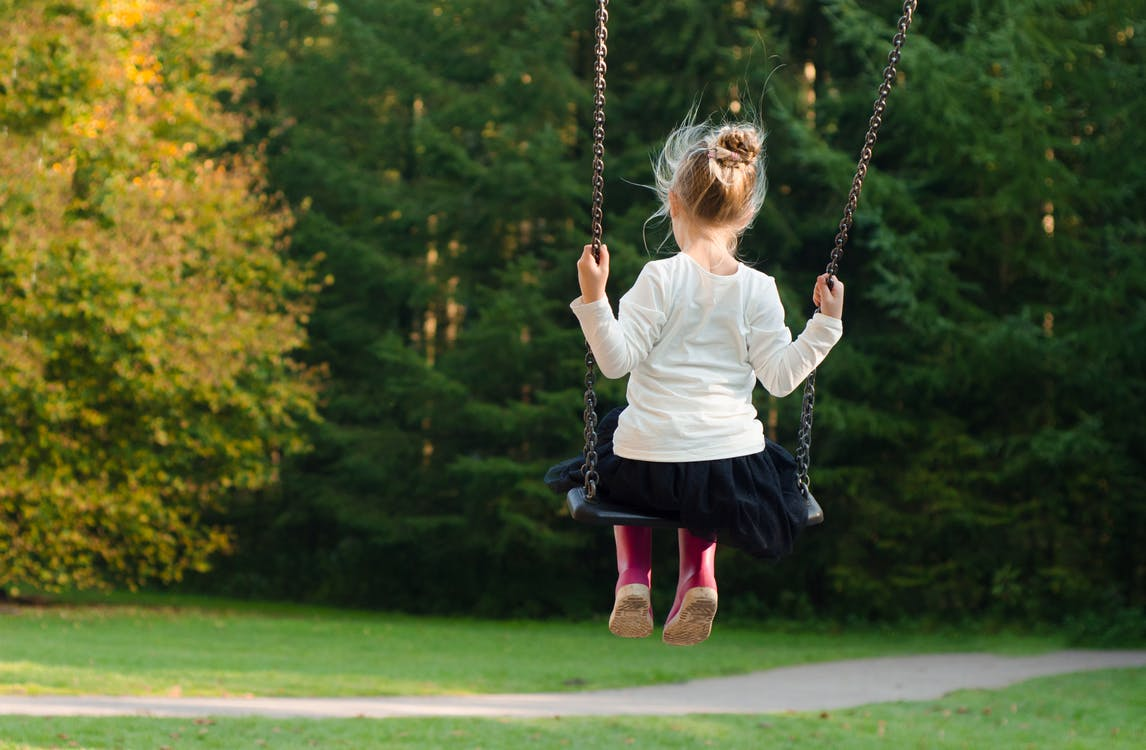 Movement - Girl on Swing