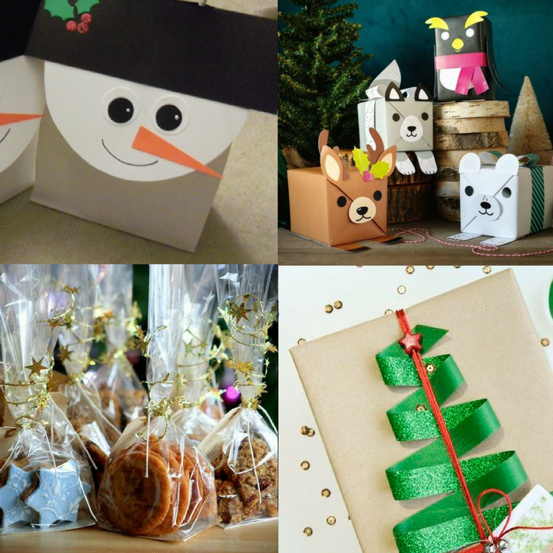DIY Christmas-Themed Gift Wrapping Ideas