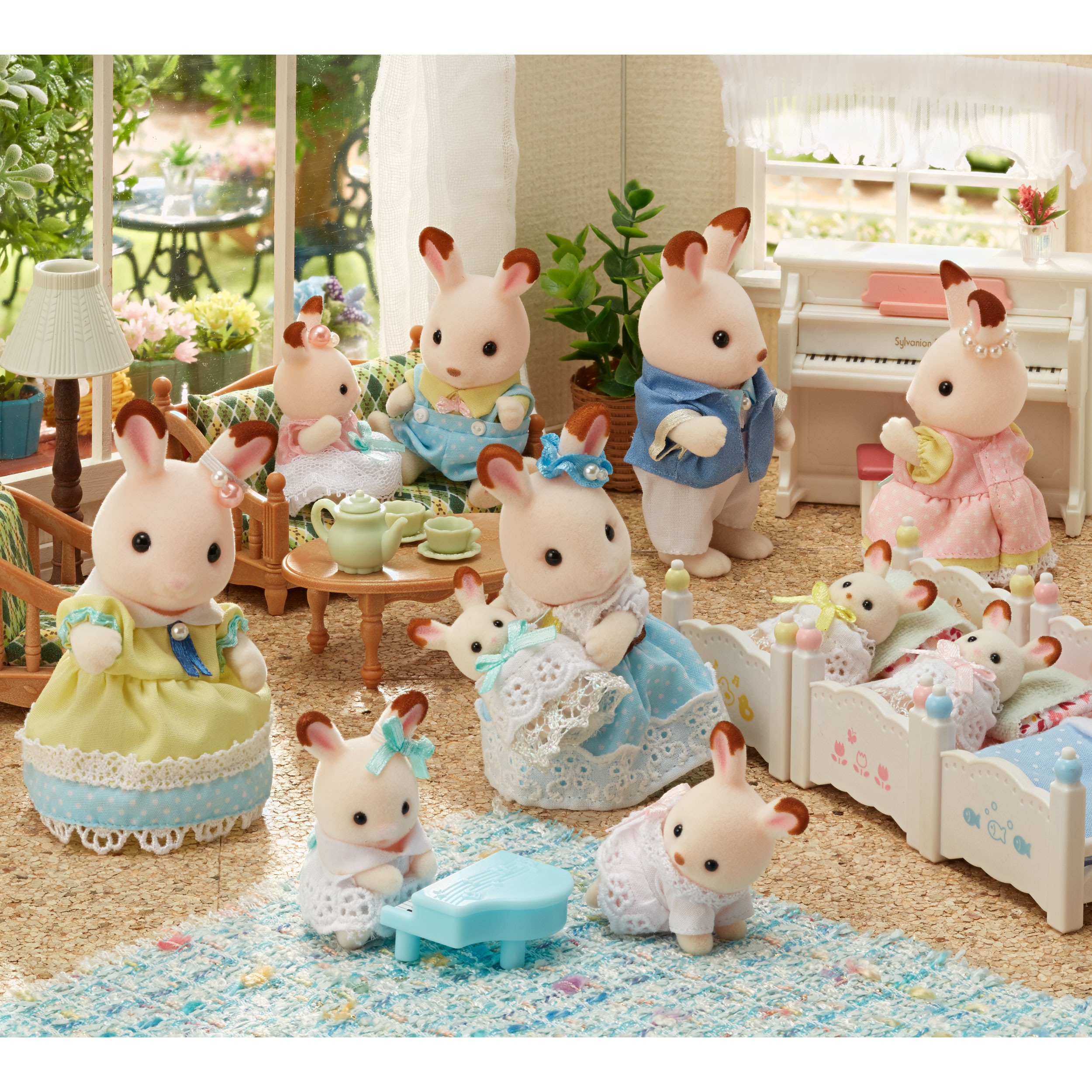 Adorable New Woodland Characters Mark The 35th Anniversary Of Sylvanian Families